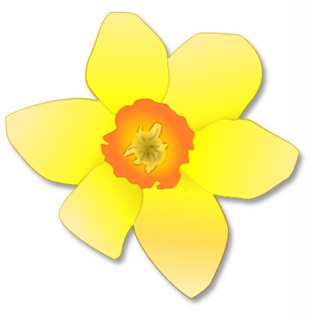 free daffodil clipart public domain flower clip art images and.