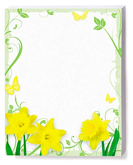Amazon.com: Daffodil Delight Border Papers, 8.5 x 11, 100 Count.