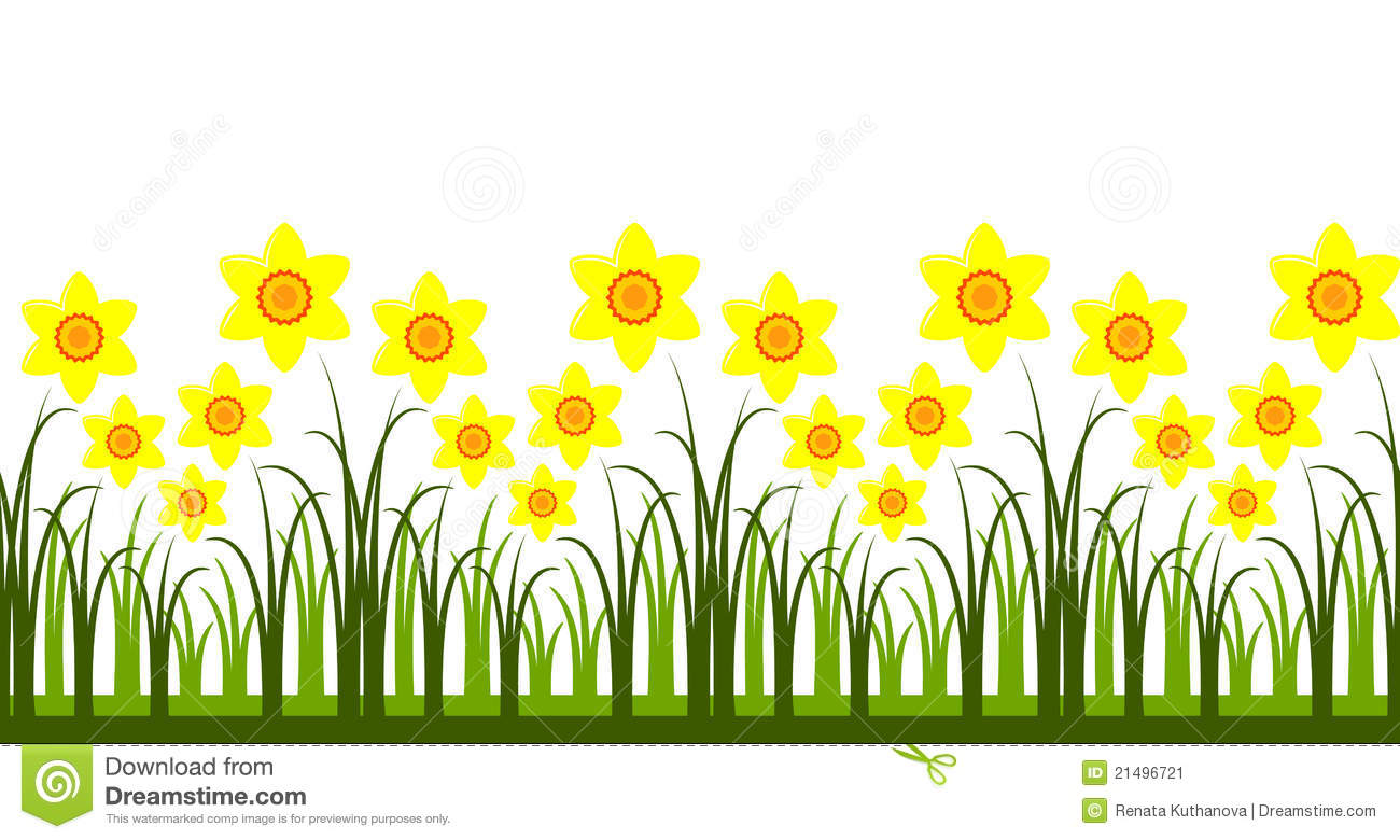 daffodils clipart clipground