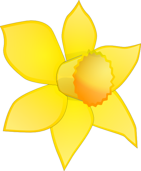 Daffodil Cartoon.