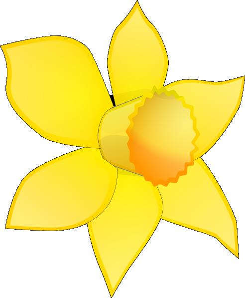 Daffodil Cartoon.