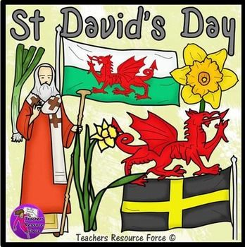 St David's Day Clip Art.
