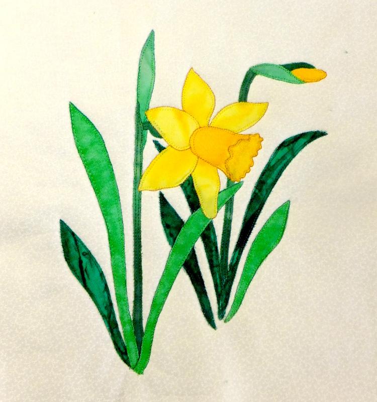 Cartoon Daffodil.