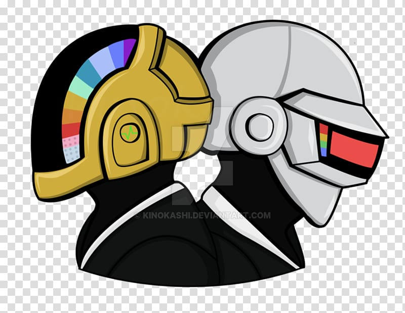 Daft Punk Fan art, daft punk transparent background PNG.