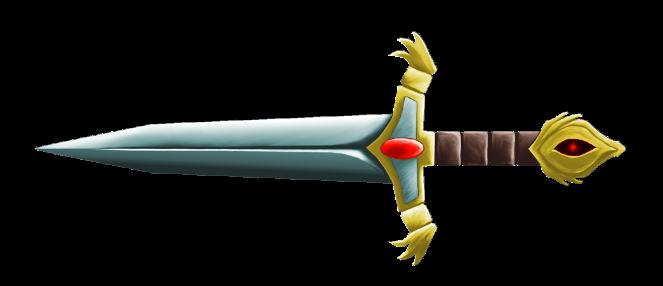 Clip art dagger.