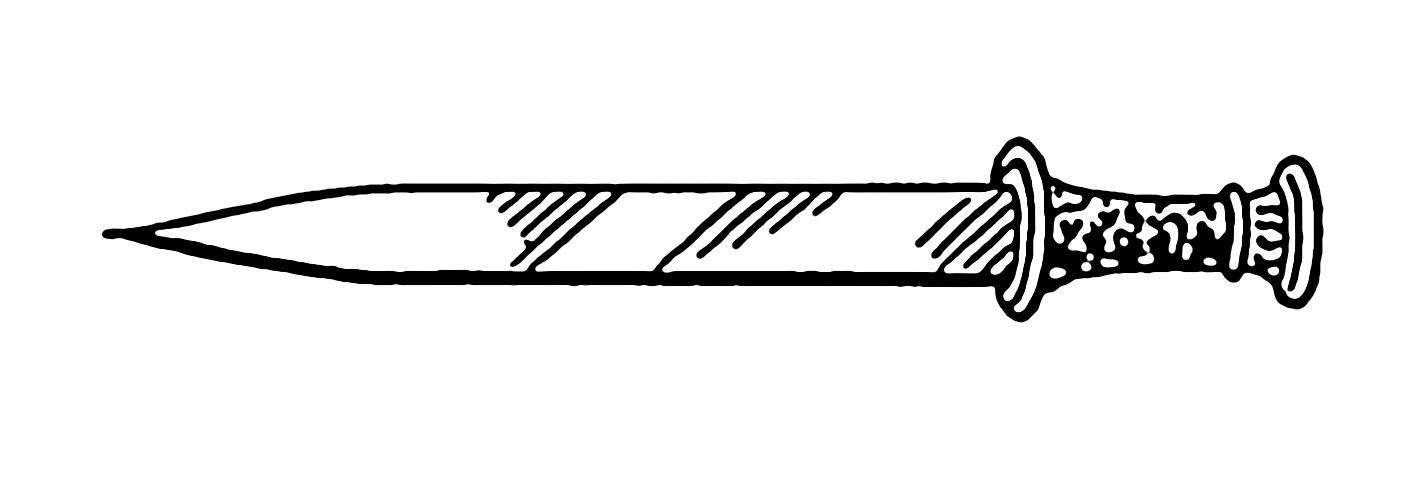 Dagger Clipart.
