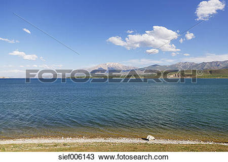 Stock Photo of Turkey, East Anatolia, Lake Van near Goeruendue.