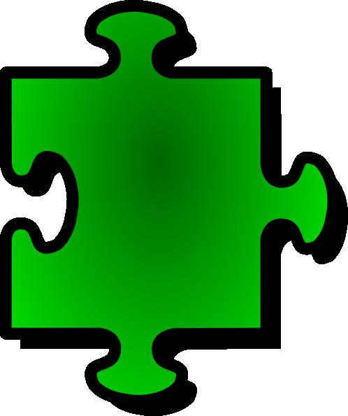 Puzzle piece clipart #11