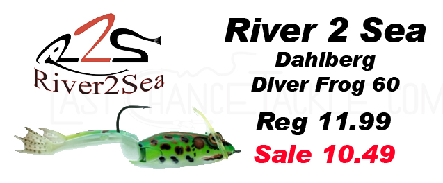 River 2 Sea Dahlberg Diving Frog 60s are now on sale at Last.