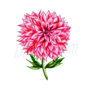 Shop Pink Flower Clip Art on Wanelo.