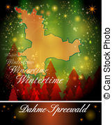 Map of dahme spreewald Illustrations and Clipart. 5 Map of dahme.