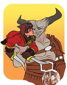 Iron Bull DAI http://dragonaging.tumblr.com/.
