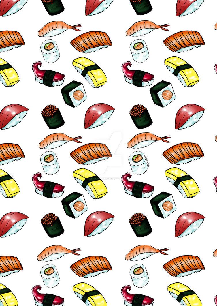 Sushi Time! by kittyzombie1 on DeviantArt.