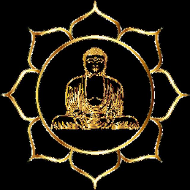 Free photo Zen Yoga Deity Shiva Statue Buddha Aura.