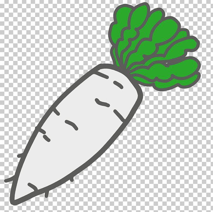Daikon Illustration Vegetable Produce PNG, Clipart, Area.