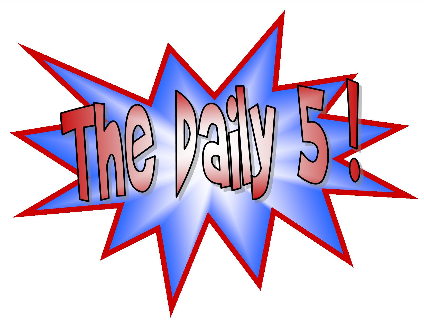 Listen To Reading Daily 5.