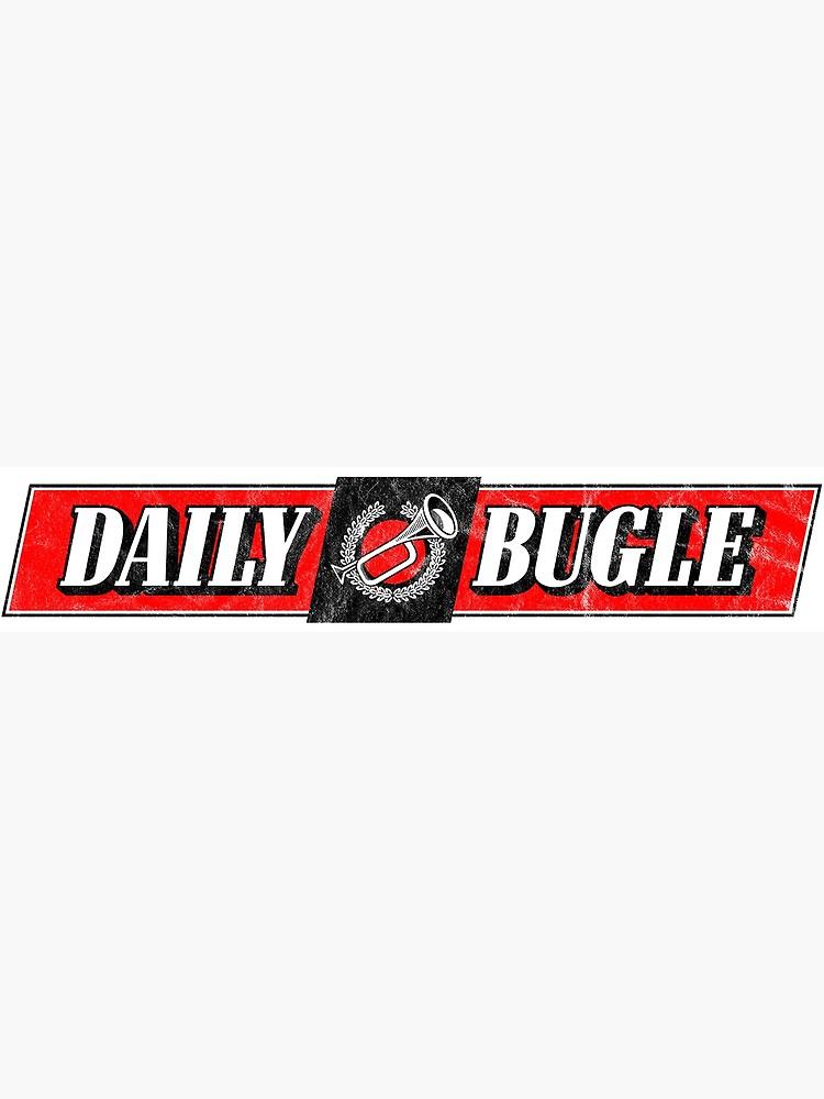 Daily Bugle Newspaper Logo.