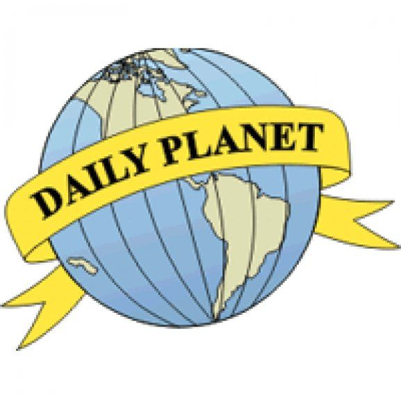 Logo of Daily Planet in 2019.