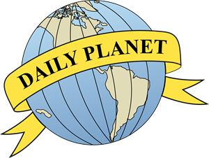 Daily Planet Logo Vector (.CDR) Free Download.
