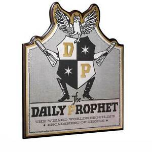 Details about Daily Prophet Wall Plaque from Harry Potter and The Chamber  Of Secrets NN7052.