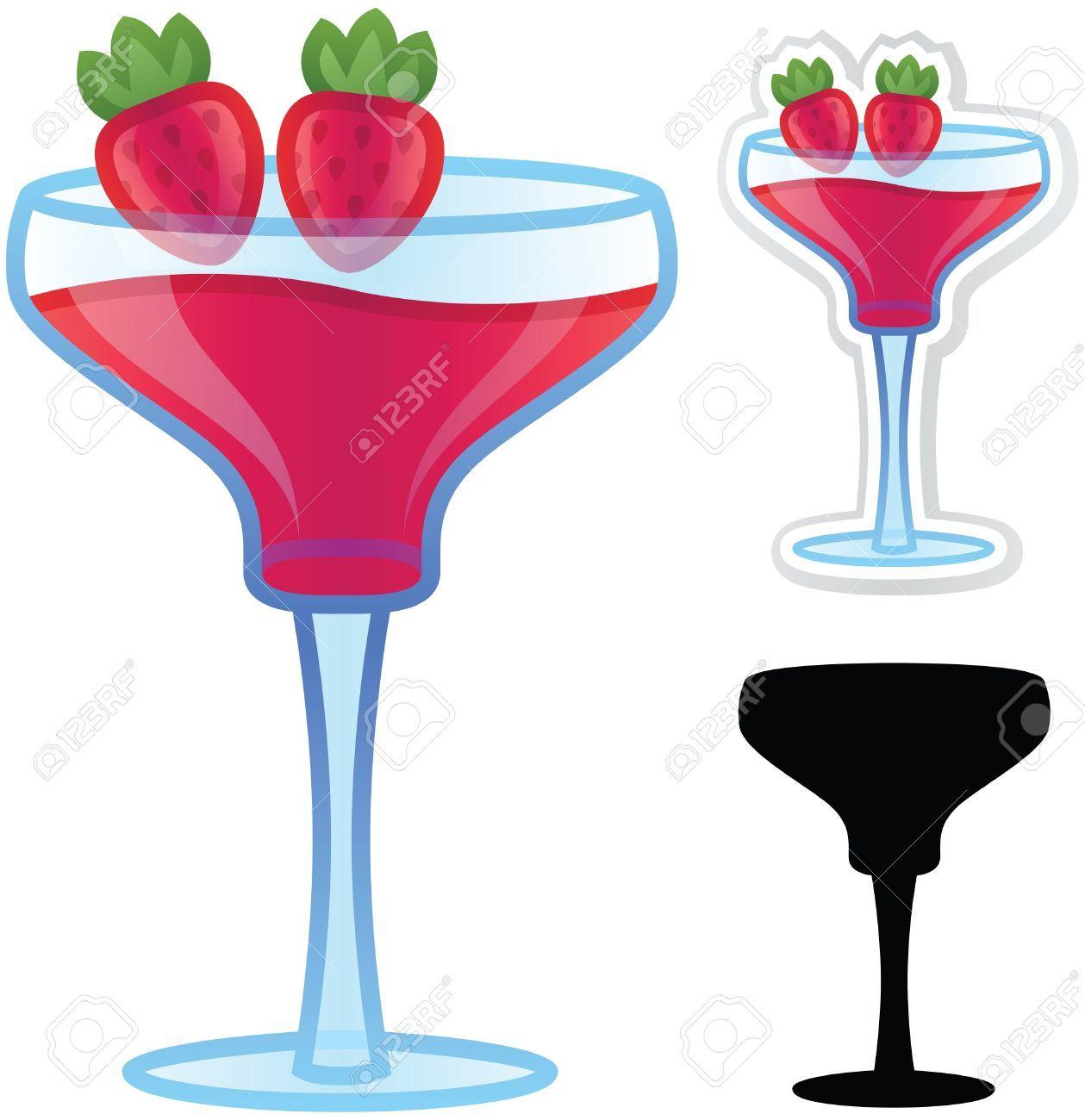 Strawberry daiquiri clipart 2 » Clipart Portal.