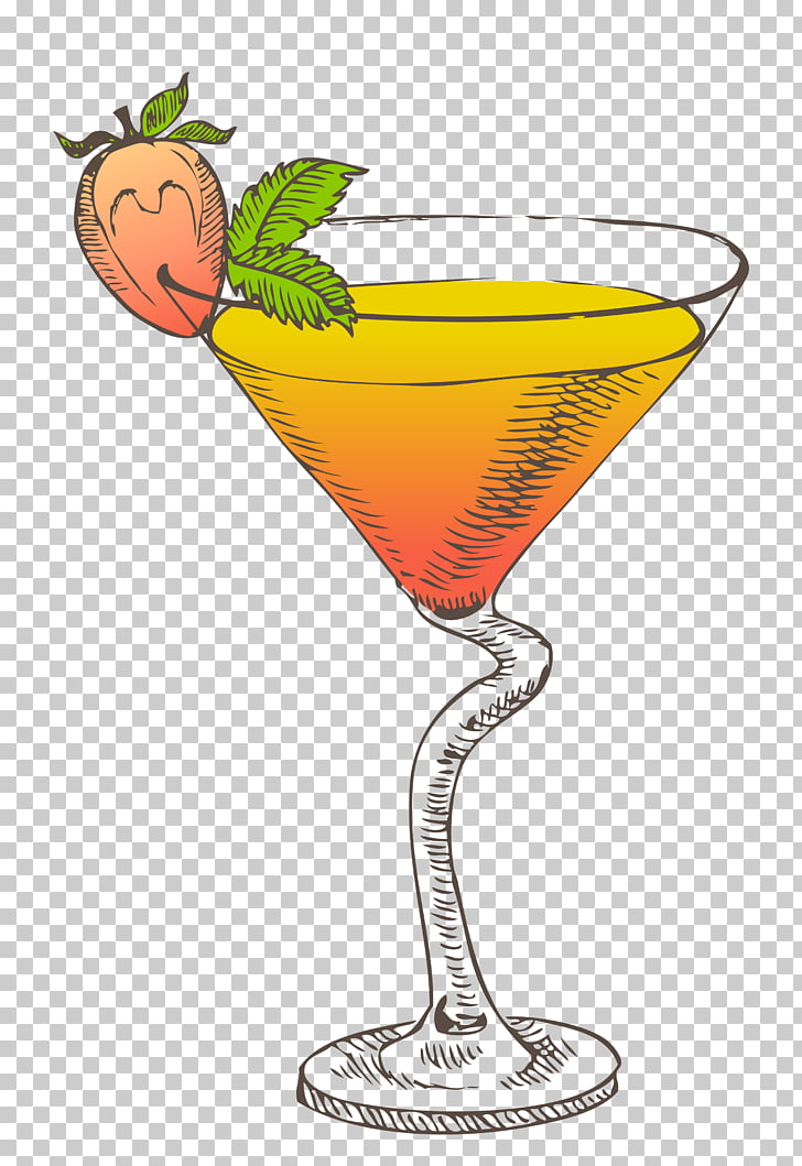 Cocktail Daiquiri Stock photography , Cocktail illustration.