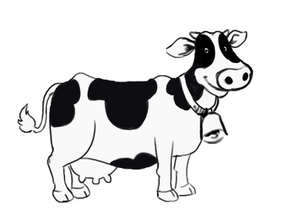 Dairy Cows Clipart