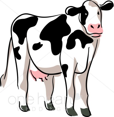 Dairy Cow Clipart.