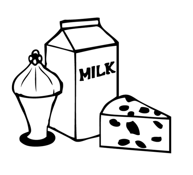 Similiar Dairy Clip Art Black And White Keywords.