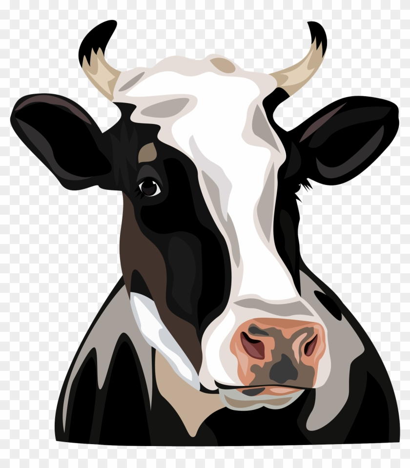 Holstein Friesian Cattle Clip Art.