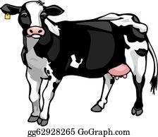 Dairy Cow Clip Art.