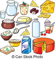 Dairy products Clipart Vector Graphics. 10,270 Dairy products EPS.