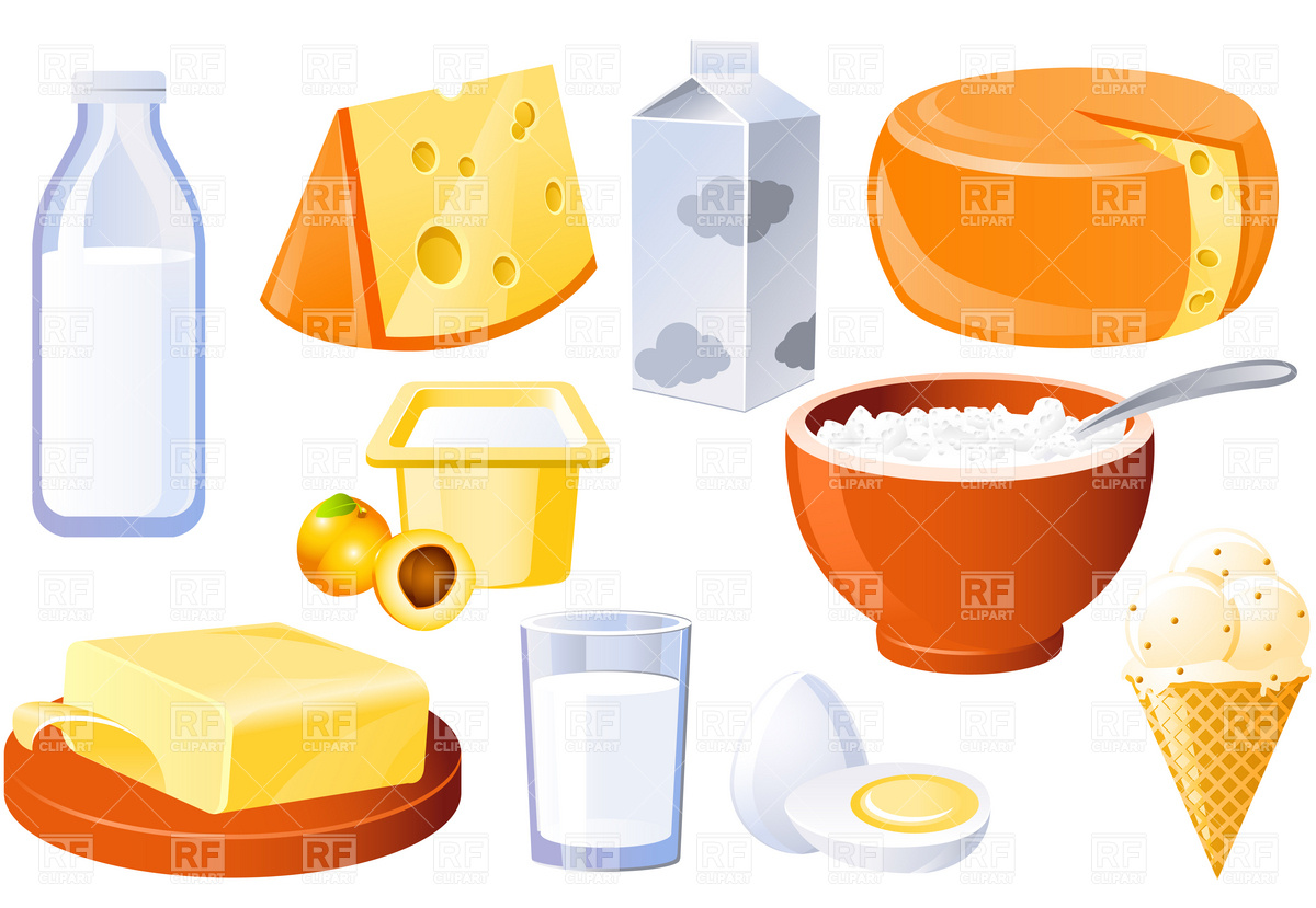 Clip Art Dairy Food Group Clipart.