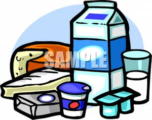 Milk group clipart.