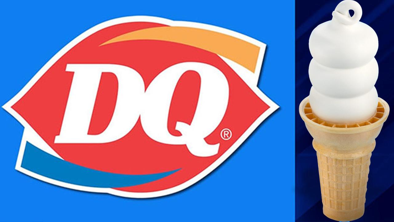 Dairy Queen offering free cones on first day of spring.