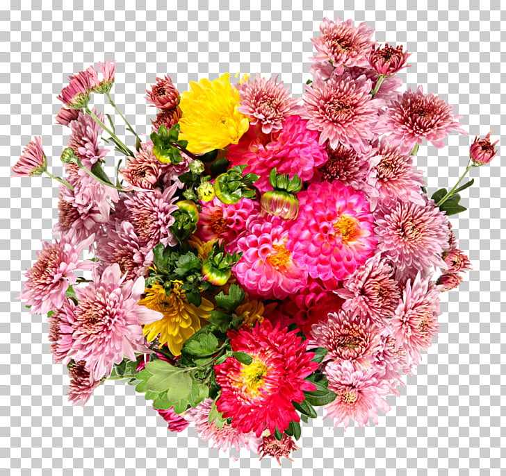 Flower bouquet Stock photography Common daisy Dahlia, Daisy.