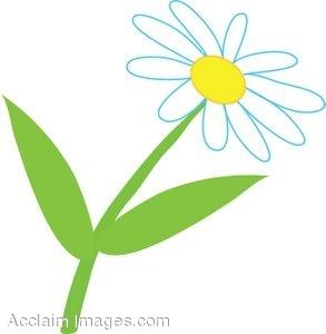Daisy flower clip art clipart.