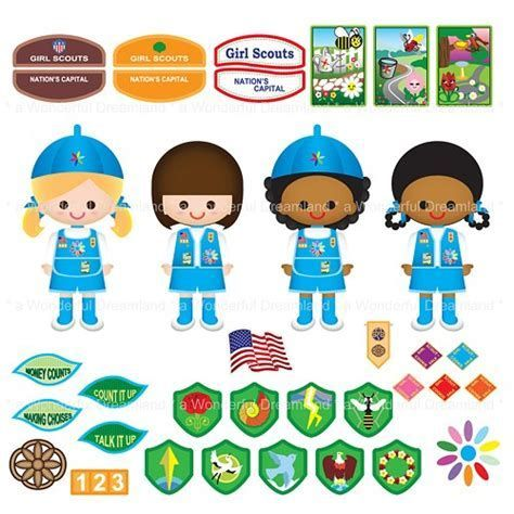 Image result for Daisy Girl Scout Clip Art.