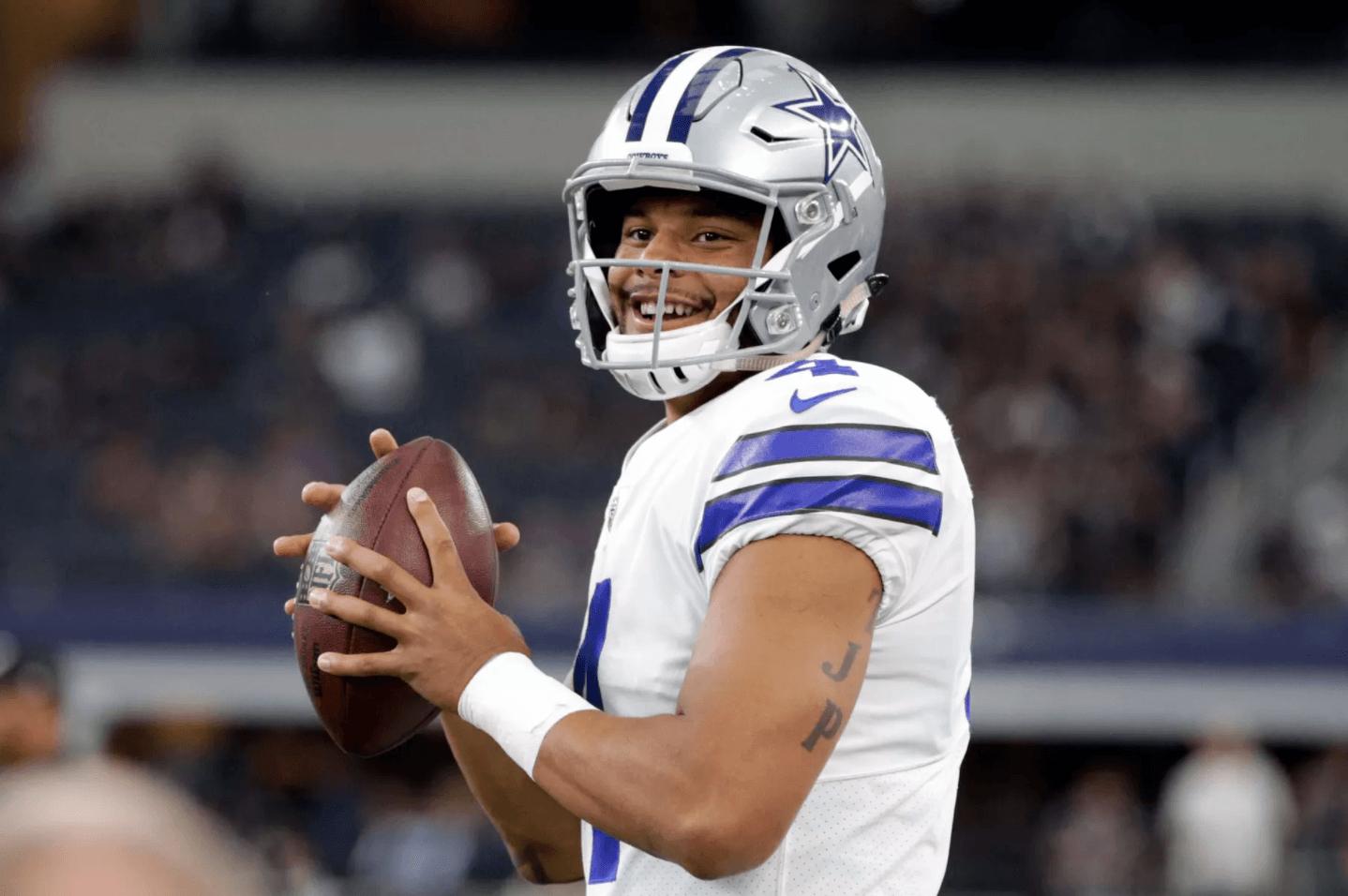 Cowboys news: Dak Prescott wants to take 'next step' rather than.