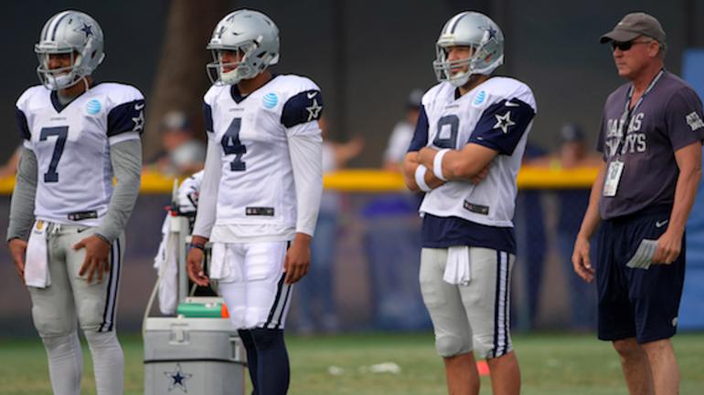 Dak Prescott on Tony Romo: 'I know what this team means to him.