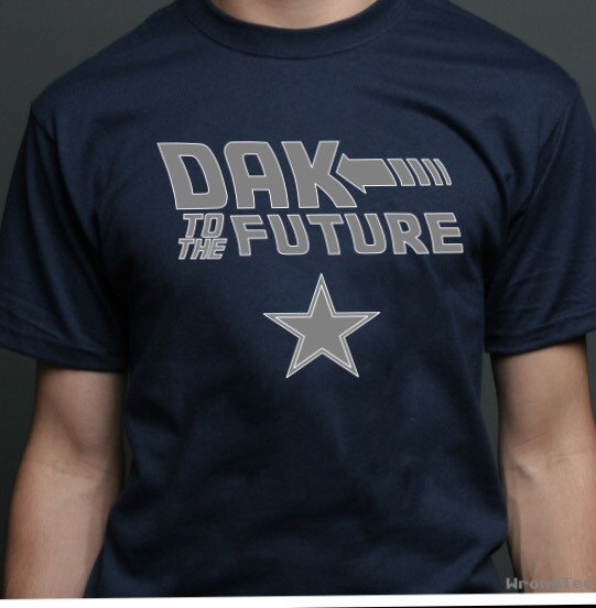 Dallas Cowboys Dak to the future by QuickWhitPrinting on Etsy.