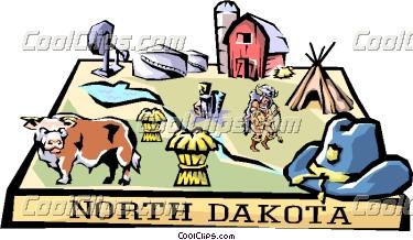 North Dakota Clipart.