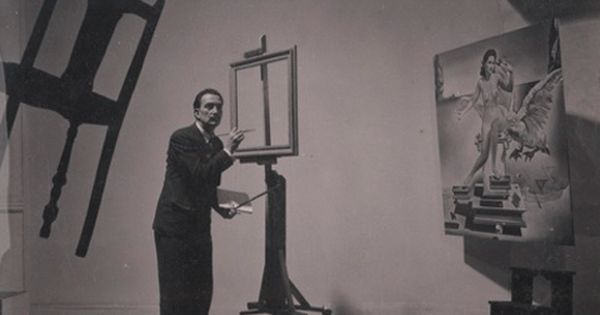 hoppip: Salvador Dalí Atomicus Magnum contact sheet.