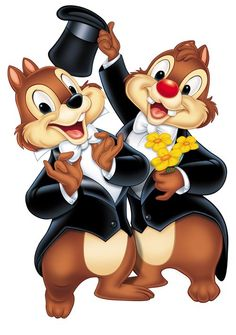 Chip And Dale Fall Clipart.