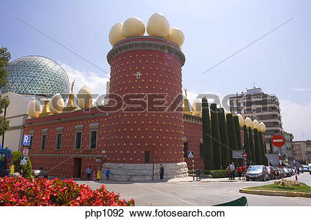 Stock Photo of Salvador Dali Museum at Figueras Spain php1092.
