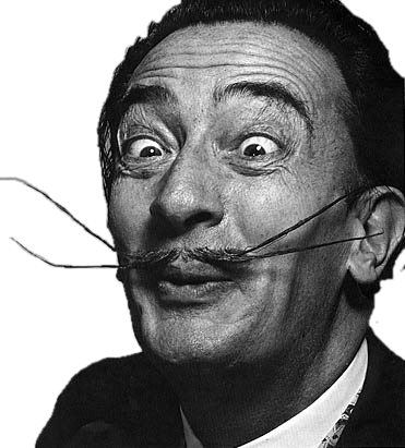 Download Free png salvador dali funny face.