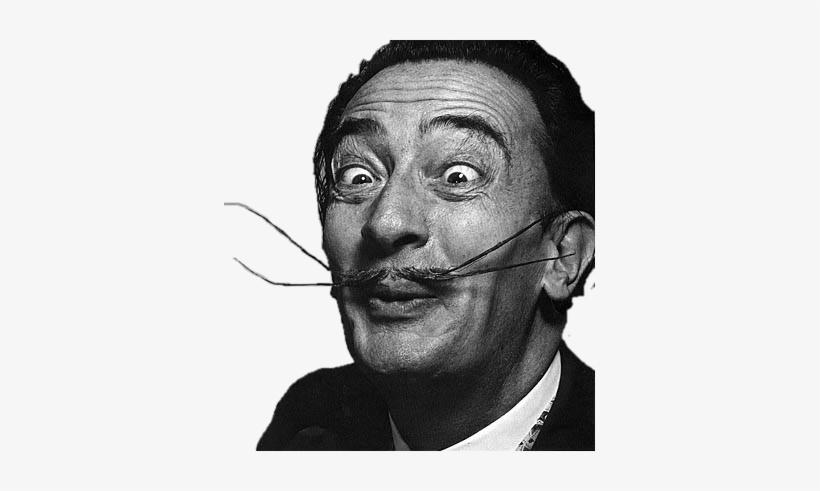 Salvador Dali Funny Face Png.
