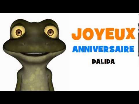 JOYEUX ANNIVERSAIRE DALIDA!.