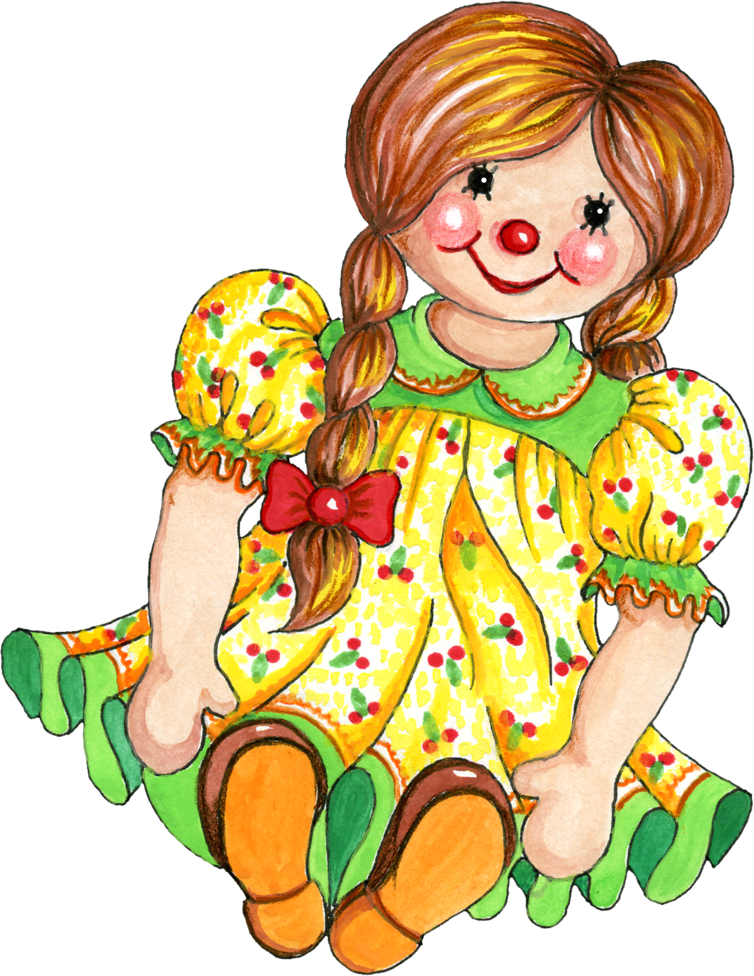 Doll images clip art.