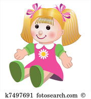 Girl doll Clipart and Illustration. 4,370 girl doll clip art.